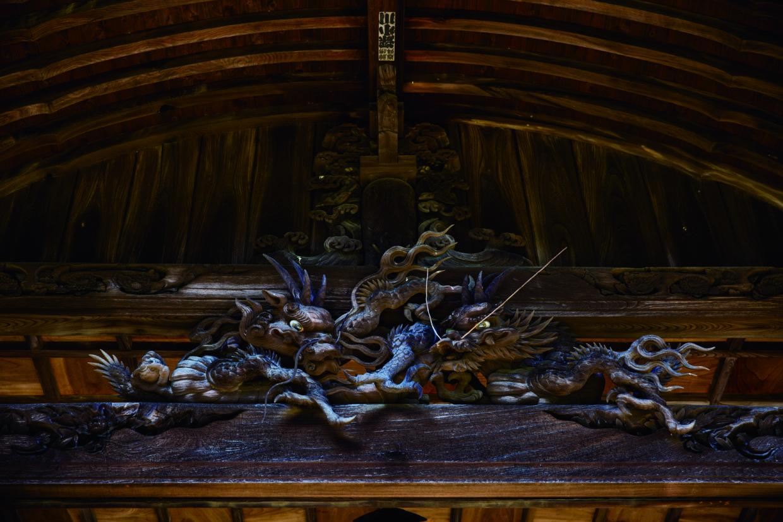 久屋寺の龍