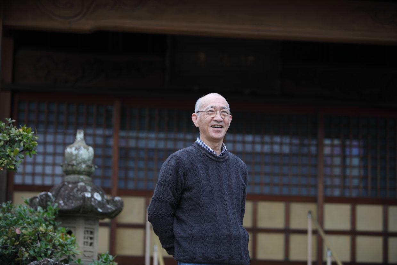 彫刻家でもある荘嚴寺の元ご住職