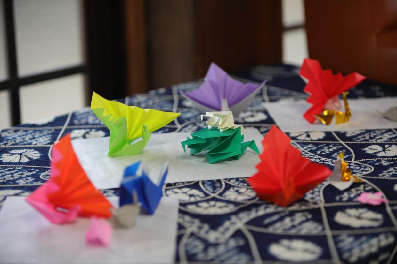 深廣寺にあった折り紙