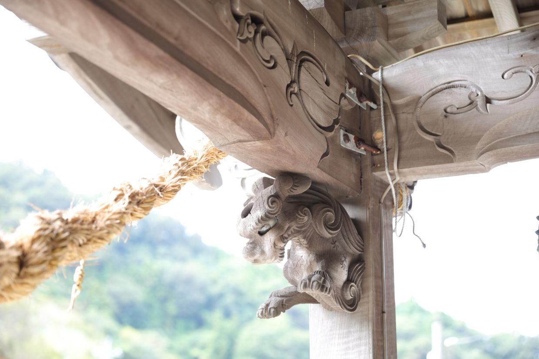 蛭子神社の獅子