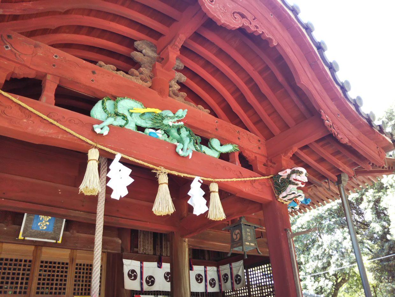 八田八幡宮の龍