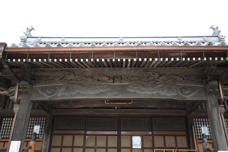 快念寺の龍と鳳凰
